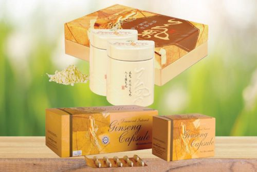 KOREAN GINSENG POWDER GINSENG CAPSULE